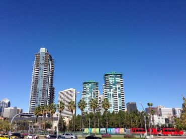 Downtown San Diego during MBA CREF 2015 (photo: Damian Ghigliotty).
