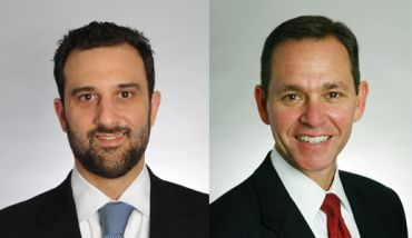 Will Silverman (left) and Jeffrey Peck of Savills Studley.