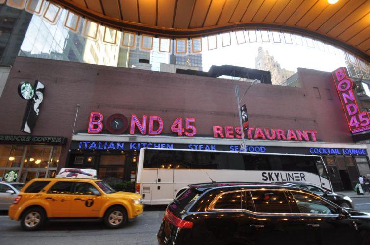Bond 45 at 154 West 45th Street.