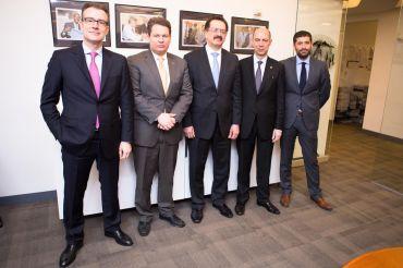 Niolaos Bakatselos, Kyp Bazenikas, Louis Katsos, Simos Anastasopoulos and Dimitris Iliopoulos (Photo: Arman Dzidzovic).