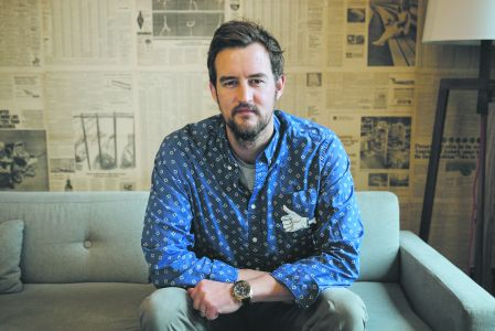 WeWork co-founder Miguel McKelvey.