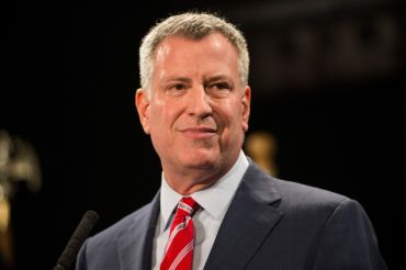 Mayor Bill de Blasio (Photo: Andrew Burton/For Getty Images) .