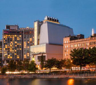 The Renzo Piano-designed Whitney Museum of American Art.