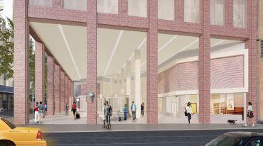 A rendering of 560 Lexington Avenue.