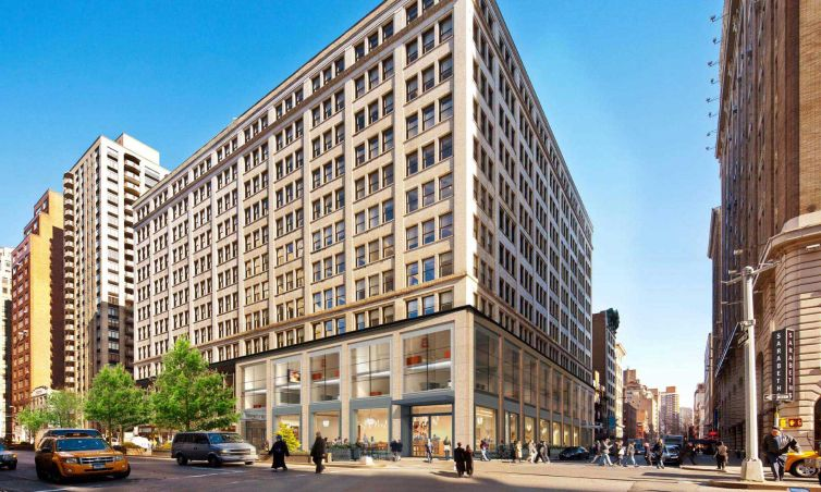 A rendering of 387 Park Avenue South.
