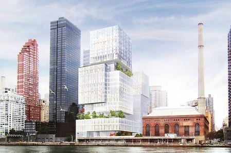 Rendering of 525 East 73rd Street (Image: Perkins Eastman/Ennead Architects).