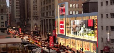 Onyx Equities is bringing a new three-story retail space to the market at 210 West 31st Street.