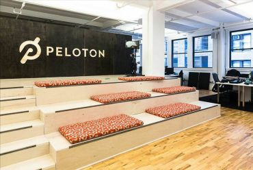 Peloton headquarters at 158 West 27th Street.