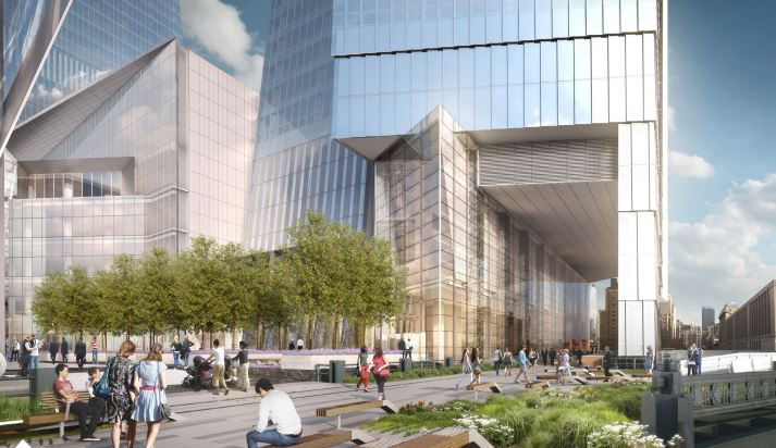 Rendering of 10 Hudson Yards.