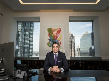 Joseph Moinian has sold his share of 180 Maiden Lane, selling his share of the Willis Tower in Chicago and is capitalizing on the Far West Side.