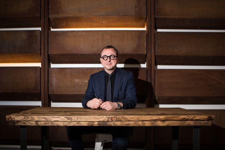 Gregg Pasquarelli of SHoP Architects. (image: Arman Dzidzovic/Commercial Observer)