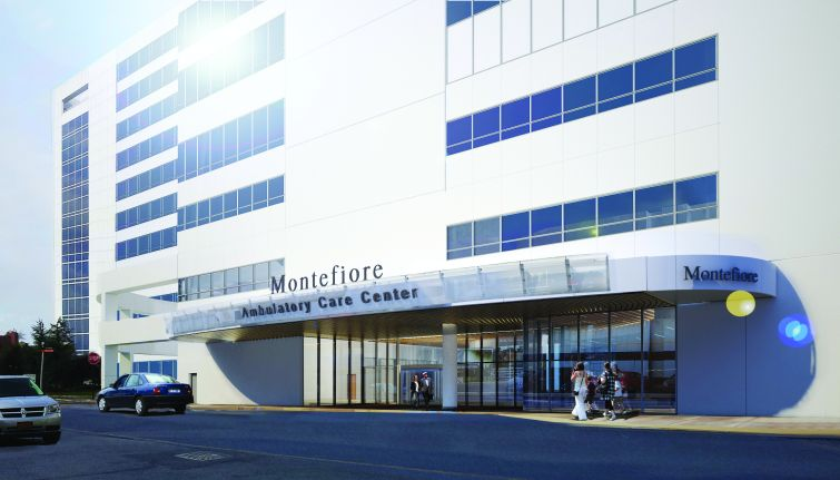 Montefiore's new outpatient facility in the Bronx.