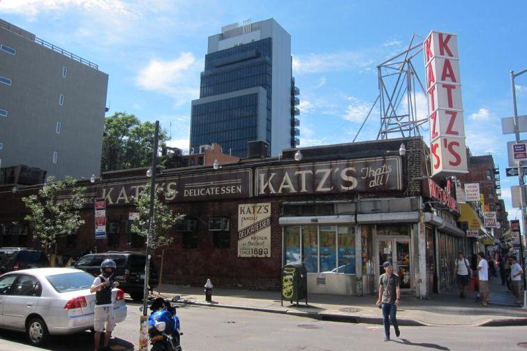 Katz's Delicatessen.