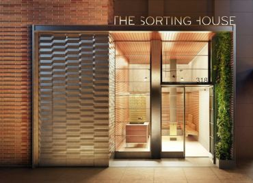 A rendering of The Sorting House.