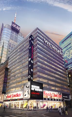 A rendering of 1460 Broadway.
