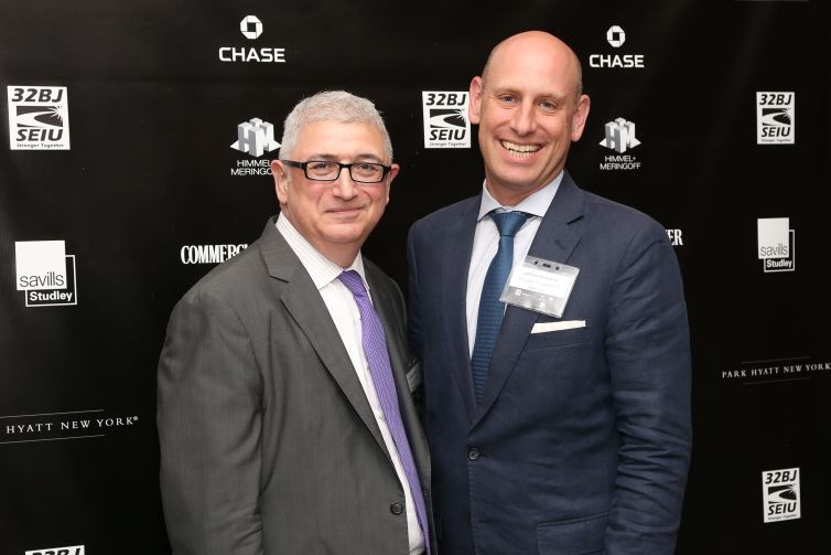 Kenneth Fisher, Jordan Barowitz== Commercial Observer Power 100 And Power 50== Park Hyatt New York, Onyx Room, NYC== June 17, 2015== ©Patrick McMullan== photo - J Grassi/PatrickMcMullan.com== ==