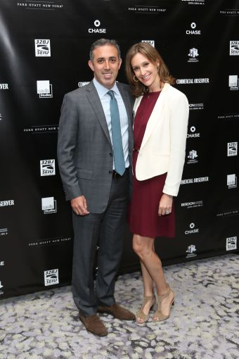 Adam Scwartz, Lauren Scwartz== Commercial Observer Power 100 And Power 50== Park Hyatt New York, Onyx Room, NYC== June 17, 2015== ©Patrick McMullan== photo - J Grassi/PatrickMcMullan.com== ==