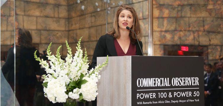 Deputy Mayor Alicia Glen== Commercial Observer Power 100 And Power 50== Park Hyatt New York, Onyx Room, NYC== June 17, 2015== ©Patrick McMullan== photo - J Grassi/PatrickMcMullan.com== ==