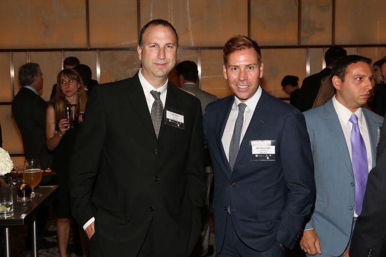 Ken Kurson, Matthew Talomie== Commercial Observer Power 100 And Power 50== Park Hyatt New York, Onyx Room, NYC== June 17, 2015== ©Patrick McMullan== photo - J Grassi/PatrickMcMullan.com== ==