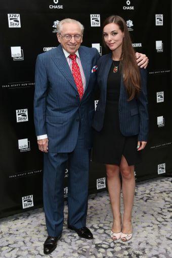 Larry Silverstein, Anastasiya Kizima== Commercial Observer Power 100 And Power 50== Park Hyatt New York, Onyx Room, NYC== June 17, 2015== ©Patrick McMullan== photo - J Grassi/PatrickMcMullan.com== ==