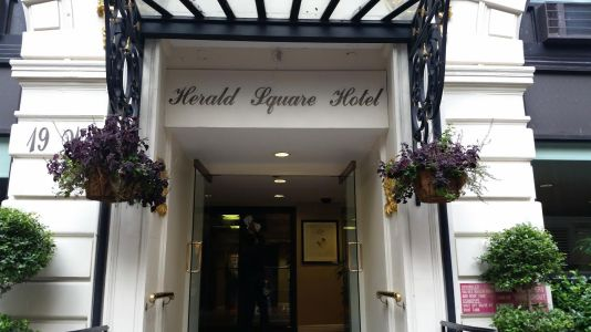 Herald Square Hotel.