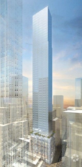 Rendering of what's to come at 520 Fifth Avenue (Image: CoStar).
