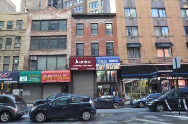 1151-1153 Broadway (center).