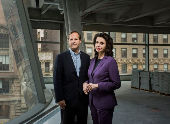 Tommy Craig of Hines and Mary Ann Tighe of CBRE (Photo: Sasha Mazlov/For Commercial Observer).
