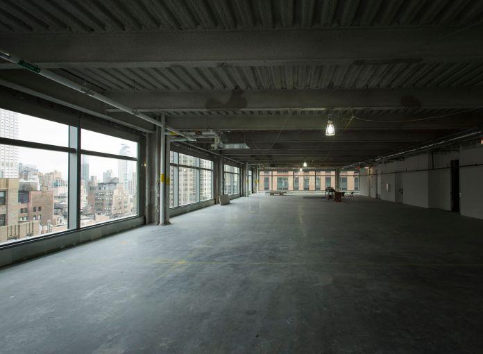Wide open floors (Photo: Sasha Mazlov/For Commercial Observer).