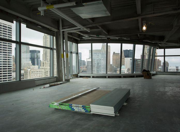 Column-free open floors (Photo: Sasha Mazlov/For Commercial Observer).