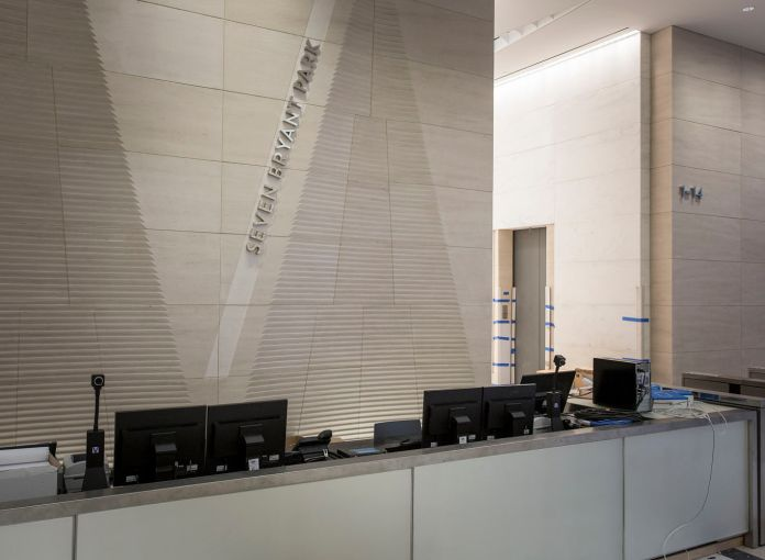 Bank of China will have it's own podium in the lobby (Photo: Sasha Mazlov/For Commercial Observer).