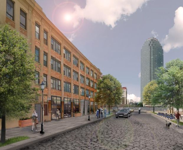 Rendering of 46-17 Austell Place.