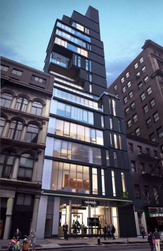 A rendering of 809 Broadway (Image: ODA Architecture).