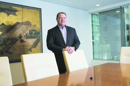 Bill O'Connor, President and CEO of O'Connor Capital Partners, in his offices at 535 Park Ave.