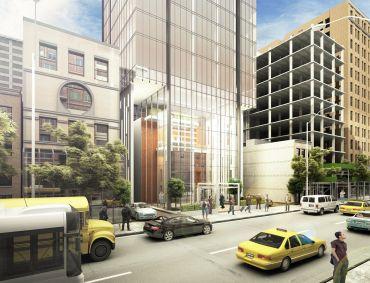Rendering of 131-141 East 47th Street (Image: CoStar).