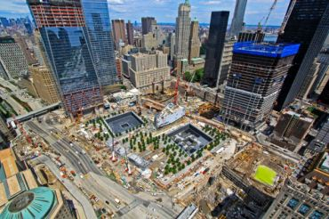 Ground Zero, June 2011 (Photo: Port Authority).