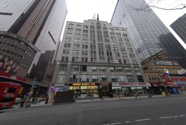 The Brill Building at 1619 Broadway.