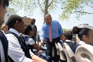 Bronx Borough President Ruben Diaz Jr. is turning around the notoriously rundown Bronx (Photo: Aaron Adler for Observer).