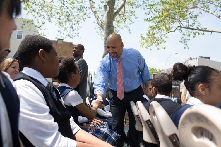Bronx Borough President Ruben Diaz Jr. is turning around the notoriously rundown Bronx (Photo: Aaron Adler for Observer).