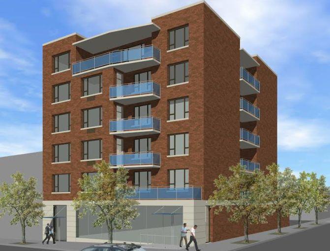 263 Bedford Avenue rendering.
