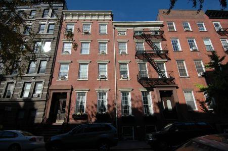 The Alma Mathews House at 273-275 West 11 Street.