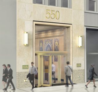 Image of the exterior of 550 Seventh Avenue.
