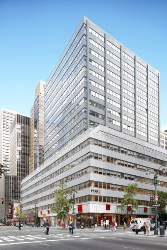 711 Third Avenue (Photo: SL Green Realty Corp.).