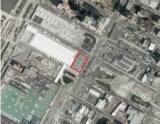 The former slaughterhouse site at 495 11th Avenue.