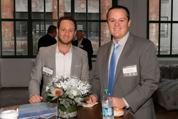 Michael Sabbagh of Ultimate Realty NY and  Brian Jones.