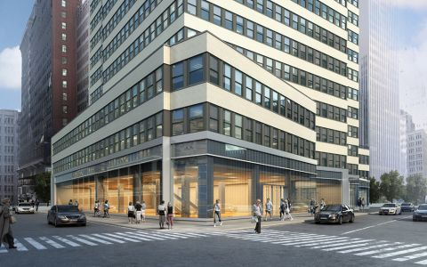 1407 Broadway rendering.