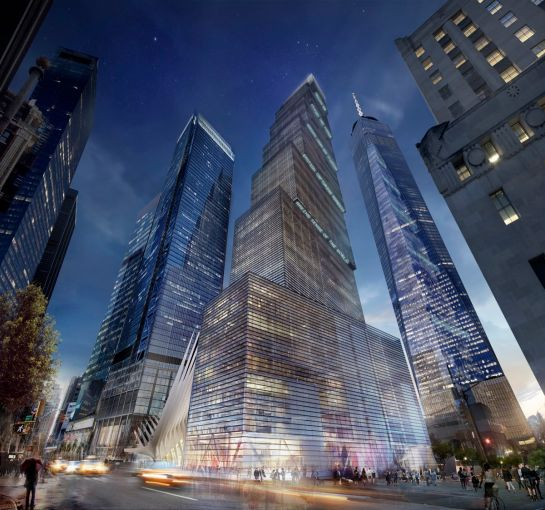 A rendering of 2 World Trade Center.