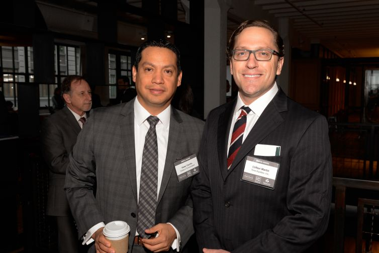 Peter Carillo of Eastern Consolidated and Clifton Martin of Time Equities.