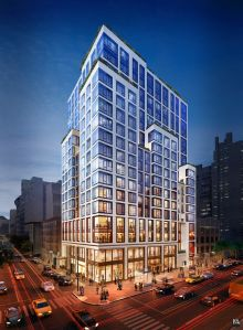 Rendering of 151 East 86th Street.