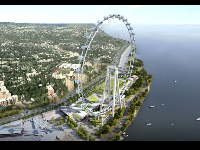 A rendering of the New York Wheel (Photo courtesy: New York Wheel).